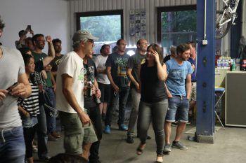 """<p class=""""caption"""">Die Band brachte das Publikum zum Tanzen.</p>"""