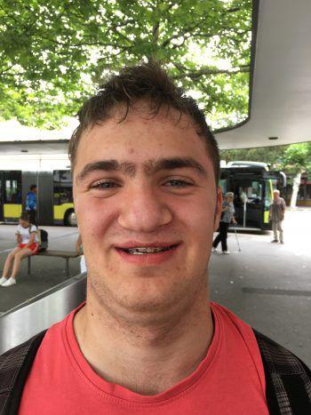"""<p>Elias, 16, Alberschwende: """"Da die WM nur alle vier Jahre stattfindet, sehe ich mir die Spiele sicher an. Anfeuern werde ich dabei die brasilianische Mannschaft, weil sie richtig gute Spieler haben.""""</p>"""