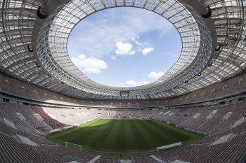 Moskau: Im Luschniki-Stadion findet das Eröffnungsspiel und das Finale statt. Fotos: APA, GEPA, Steurer