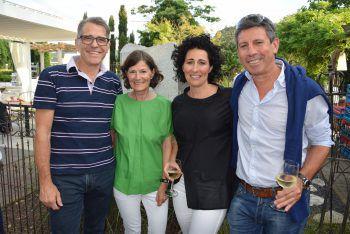 """<p class=""""caption"""">Norbert und Gitte Loacker, Petra Nistelberger (Cocoon) und Helmut Beran.</p>"""