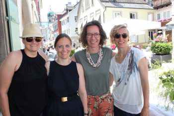 "<p class=""caption"">Patricia Knöpfle , Barbara Gilhaus-Sturn, Heike Holenweger sowie Christine Gruber.</p>"