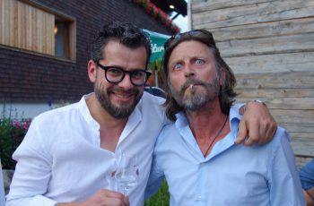 "<p class=""caption"">Alexander Ess und Thomas Anton Rauch.</p>"