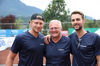 """<p class=""""caption"""">Die """"Macher"""" Marco Jutz, Thomas Fritz und Dominik Ganahl. Fotos: Franz Lutz</p>"""