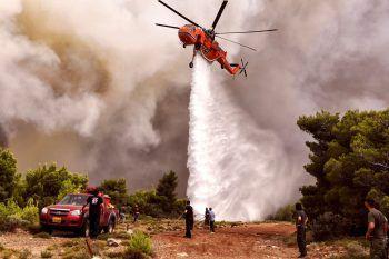 """<p class=""""caption"""">Die Rettungskräfte versuchten, das Feuer schnellstmöglich unter Kontrolle zu bringen.</p>"""