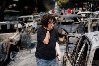 """<p class=""""caption"""">Ein Bild des Grauens: Viele Menschen haben in den Flammen alles verloren.</p>"""