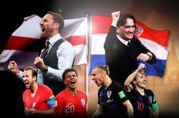 England und Kroatien kämpfen heute um den letzten verbliebenen Platz im Finale.Foto: GEPA
