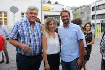 "<p class=""caption"">Mandi Katzenmayer, Silvia Plangg und Jakob Glawitsch.</p>"