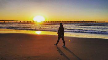 Melanie in San Diego, Kalifornien. Fotos: Privat