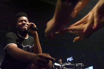 <p>Montreux. Stimmgewaltig: Der Auftritt von US-Superstar Khalid beim Jazz-Festival.</p>