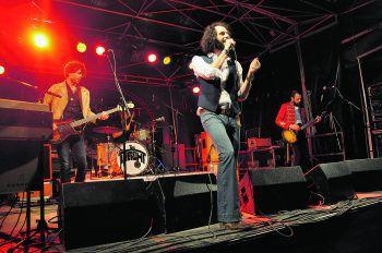 The Weight sorgten mit einer soliden Rock-Show für Festival-Stimmung.Foto: MB, handout/ Villa K.