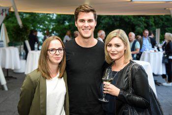 """<p class=""""caption"""">Theresa Kalb (Stadtmarketing Bregenz), Luca Fasching (Studio Fasching) und Christina Egger (Stadtmarketing Bregenz).</p>"""