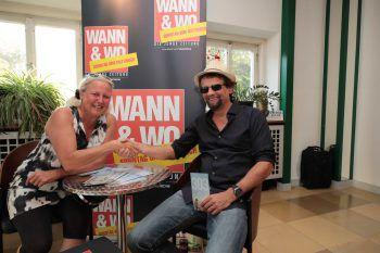 WANN & WO-Meet & Greet: Eva-Maria Jölli trifft Filmemacher Hans Weingartner. Fotos: Arno Meusburger