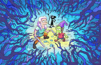 Bean, Luci und Elfo erleben zusammen turbulente Abenteuer.Foto: Netflix