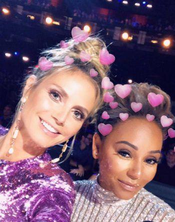 """<p>Bereit für die Show: Heidi Klum und Mel B sind in der Jury bei """"America's got Talent"""".</p>"""