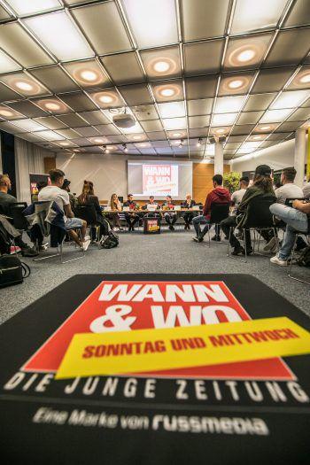 """<p class=""""caption"""">Das Casting steigt morgen ab 18.30 Uhr bei WANN & WO in Schwarzach.</p>"""