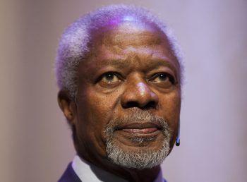 Der Friedensnobelpreisträger Kofi Annan war ein Verfechter der Menschenrechte. Er starb gestern im Kreise seiner Familie. Foto: APA