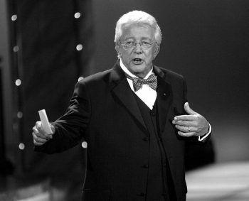 """Der langjährige Moderator der """"ZDF-Hitparade"""" starb am Donnerstag im Alter von 80 Jahren."""
