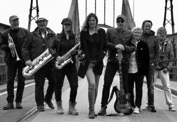 """Die Lustenauer Band """"Funkstreife 6"""" spielt Funk & Soul am Kirchplatz in Lustenau. Der Eintritt ist frei.Bild: Funkstreife_presse"""