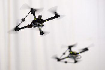 Drohnen sind eine Gefahr für die Flugzeuge. Foto: APA