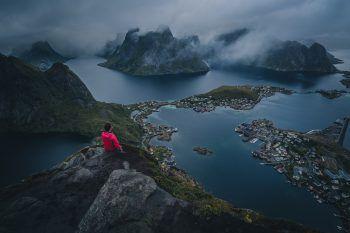 """<p class=""""caption"""">Ein Foto von Samuel aus seinem Urlaub auf den Lofoten.</p>"""