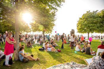 Ein tolles Rahmenprogramm erwartet die Besucher beim Bregenzer Hafenfest.