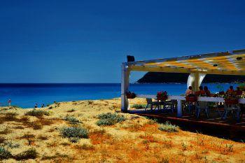 """<p class=""""caption"""">Hotel Garden Beach auf Sardinien.</p>"""