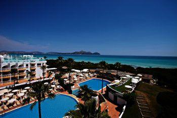 "<p class=""caption"">Hotel Iberostar Albufera Playa auf Mallorca.</p>"