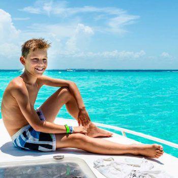 "<p class=""caption"">Marc aus Dornbirn auf der Insel Mujeres, Yucatan Mexiko.</p>"