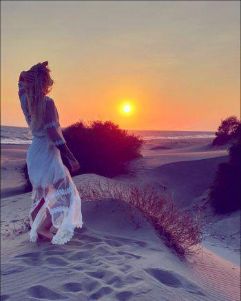 "<p class=""caption"">Nadja aus Hohenems am Patara Beach in der Türkei.</p>"