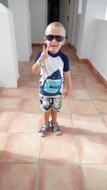 "<p class=""caption"">Nico (3) aus Rankweil im Urlaub auf Fuerteventura.</p>"