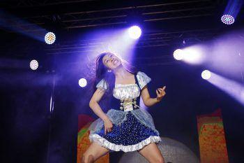 """<p>Oulu. Musikalisch: Nanami """"Seven Seas"""" Nagura aus Japan ist die neue Luftgitarren-Weltmeisterin.</p>"""