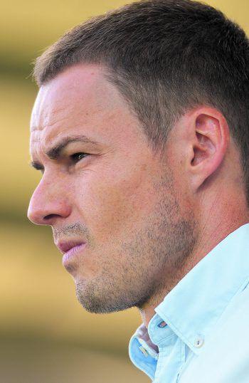 SCRA-Coach Werner Grabherr zeigt sich kämpferisch und will an die gute Leistung in der zweiten Hälfte gegen Salzburg anknüpfen.Foto: GEPA