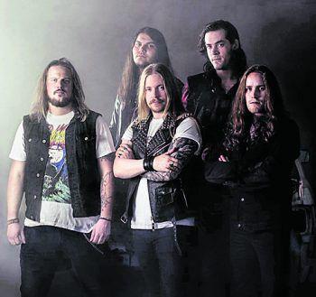 """<p class=""""caption"""">""""Screamer"""" haben vergangenes Jahr ihr neues Album """"Hell Machine"""" veröffentlicht.</p>"""