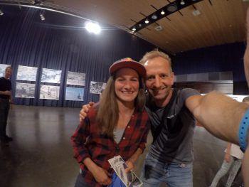 Selfie-Time: Nadine Wallner und Andreas Vaschauner.