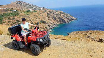 """<p class=""""caption"""">Sonja auf der Insel Naxos, Griechenland. Fotos: Privat</p><p class=""""caption"""" />"""