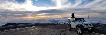 """<p class=""""caption"""">Tanja in ihren Flitterwochen auf Hawaii – hier ist sie gerade auf dem 4.207 Meter hohen Mauna Kea zu sehen.</p>"""
