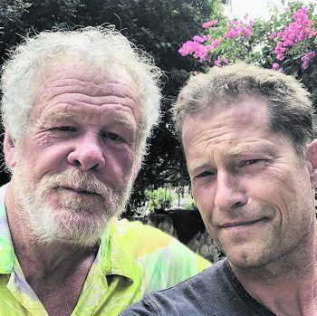 <p>Unterwegs: Til Schweiger und Nick Nolte genießen ihre gemeinsame Zeit in Malibu.</p>