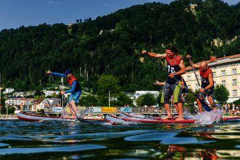 """Viel Spannung und Action verspricht der """"Lake Day"""" am 26. August.Foto: handout/SUP"""