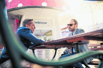 "<p class=""caption"">WANN & WO traf den renommierten Unternehmensberater in Bregenz.Fotos: Sams</p>"