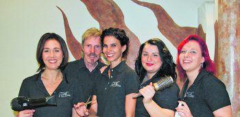 Beim Team von Coiffeur Wolf sind die Kunden in den besten Händen.Foto: handout/Coiffeur Wolf
