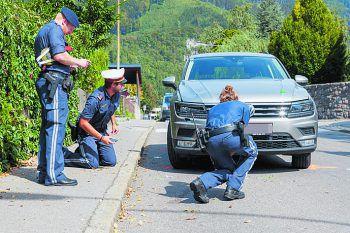 Der Unfall ereignete sich auf dem Schutzweg in der Ignaz Wolfstraße. Foto: Bernd Hofmeister