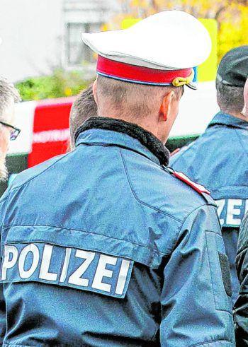 Die Polizei musste mit mehreren Beamten ausrücken. Symbolfoto: Russmedia