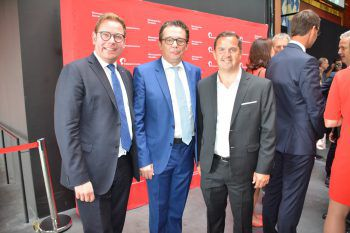 """<p class=""""caption"""">Direktorentrio: Markus Klement (ORF), Hans-Peter Metzler (WKV) und Jürgen Kessler (Wirtschaftsbund).</p>"""