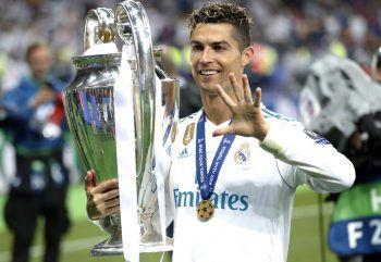 Nach dem Sieg in der Champions League gegen Liverpool (3:1) wechselte Cristiano Ronaldo heuer für 117 Mio. Ablöse von Real Madrid zu Juventus Turin.