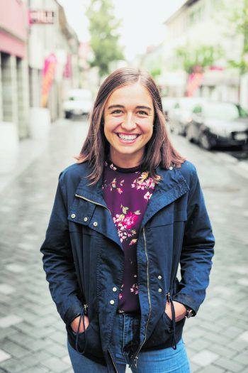 Hannah (18) freut sich schon auf das Marktstraßeneröffnungsfest am kommenden Samstag.