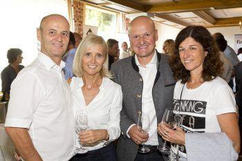 """<p class=""""caption"""">Jochen Klimmer und Brigitte Maurer mit Alexander und Marlies Klimmer (Doppelmayr).</p>"""