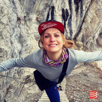"""<p>Kathrin Schichtl, Läuferin: """"Da ich leidenschaftliche Berg- und Trailläuferin bin, ist Hohenems die perfekte Wahlheimat für mich. In fünf Minuten bin ich in der schönen Natur und auf meinem Lieblingshausberg - dem Gsohl oder dem Schwefelberg. Hohenems verbindet Natur und Lifestyle optimal.""""</p>"""