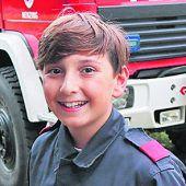 """<p>Marcel, 13, Nenzing: """"Bei der Feuerwehr schätze ich vor allem den Zusammenhalt und das Teamwork! Heuer bin ich zum ersten Mal beim ,Actionday' dabei und freue mich schon sehr darauf! Vor allem auf die vielen verschiedenen Sachen, die wir ausprobieren können.""""</p>"""