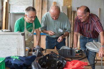 Das Reparaturcafé Klostertal repariert am Samstag wieder viele defekte Geräte.