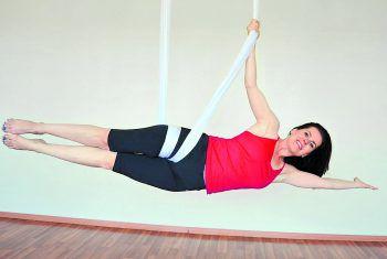 Regelmäßiges Yoga-Training bei Maria Begle in Hohenems führt zu mehr Ausgeglichenheit und einem Gefühl von Leichtigkeit.